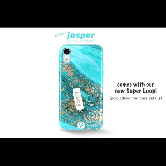 new products 63ac2 27175 iPhone Loopy Case Xs Max in Jasper! NWT